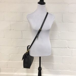 Coach Bags - Coach Vintage Leather Crossbody Bag in Black
